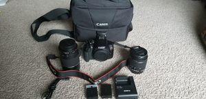 Canon rebel T6 bundle for Sale in Alexandria, VA