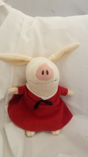 "Zoobies 8"" Olivia the Pig Story Book Stuffed Animal Plush Doll EUC for Sale in Katy, TX"