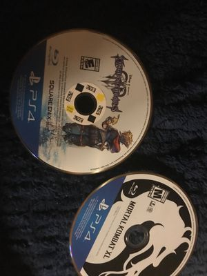 Got to PS4 Gam Mortalg Kombat XL and kingdom hearts asking 40 for Sale in Denver, CO