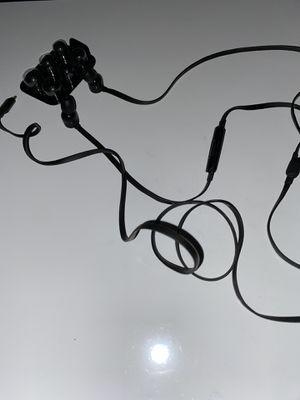 Beats headphones w/mic (IPhone) black w/ original ear tips for Sale in Houston, TX