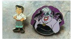 Disney little mermaid pins for Sale in Poinciana, FL