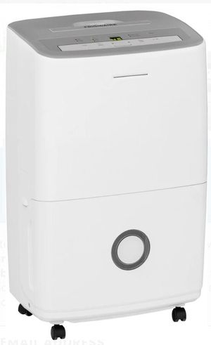 Frigidaire FFAD5033R1 Dehumidifier with 3 Fan Speeds, Push-Button Electronic Controls, Adjustable Humidity Settings, Automatic Shut-Off, ENERGY STAR for Sale in Arcadia, CA