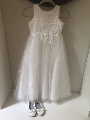 Flower Girl dress - ivory for Sale in Wake Forest, NC