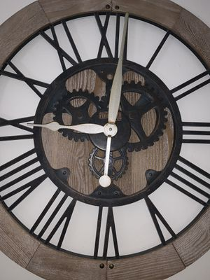 "24"" farmhouse rustic wall clock for Sale in Dunedin, FL"