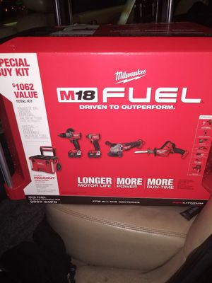"""MILWAUKEE M18 FUEL 4-Tool Combo Kit """"BRAND NEW"""" for Sale in Roseville, CA"""