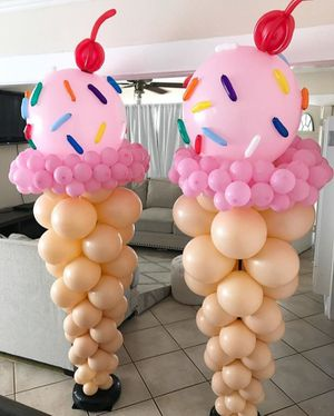Ice cream balloons for Sale in San Antonio, TX