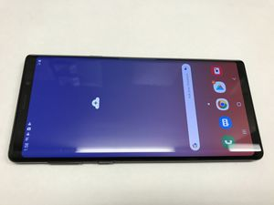 Unlocked Samsung Galaxy NOTE 9 for any Company. Works with att, Tmobile, metro pcs, cricket, Verizon and overseas. UNLOCKED. Comes with charger an for Sale in San Francisco, CA