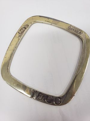 VINTAGE TIFFANY & CO. 1837 Square Cushion Bangle for Sale in Torrance, CA