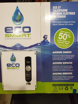 Eco smart eco 27 water heater brand new in the box for Sale in Doral, FL