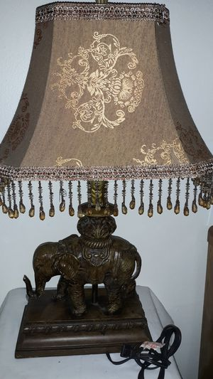 Elephant Lamp for Sale in Cherry Hill, NJ