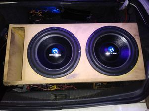 Nemesis audio system for Sale in Dallas, TX
