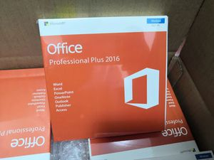 Microsoft Office Professional 2016 Mac and Windows for Sale in HALNDLE BCH, FL
