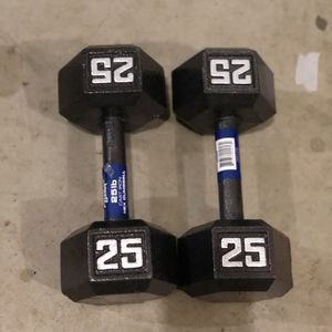 25lb dumbbell set for Sale in Renton, WA