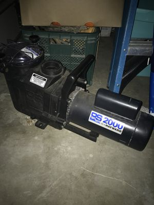 Hayward RS2000 2HP Pool Pump - Like New for Sale in Rodeo, CA
