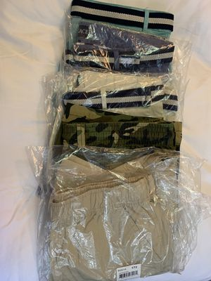 (NEW) with tags Chino pants / cargo shorts size 16Husky for Sale in Miami, FL