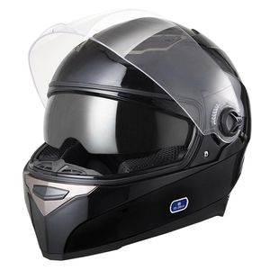 Motorcycle Helmet Full Face Dual Visors Black DOT Safety Protection for Sale in Montclair, CA