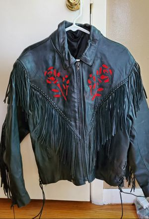 Leather Riding Coat for Sale in McHenry, IL