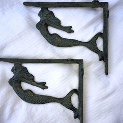 Mermaid shelf brackets for Sale in Seattle,  WA
