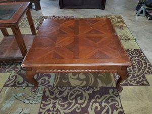 Solid wood coffee table for Sale in Julian, NC