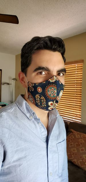 Protect your health with this double layer and fabric filter Masks. for Sale in North Miami Beach, FL
