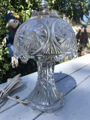 Antique crystal lamp for Sale in Campbell, CA