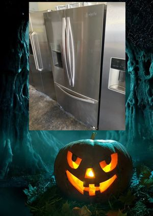 WHIRLPOOL STAINLESS FRENCH DOOR FRIDGE for Sale in Santa Ana, CA