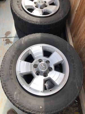2007 Tacoma stock rims for Sale in Parlier, CA