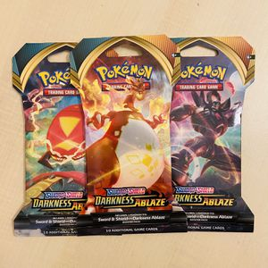 Pokemon Cards: Darkness Ablaze Booster Pack for Sale in Irvine, CA