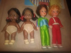 Vintage plastic Doll lot Made in Hong Kong for Sale in Ocala, FL