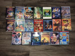 Disney movies / lot of 20 / $80 / OBO for Sale in Fort Lauderdale, FL
