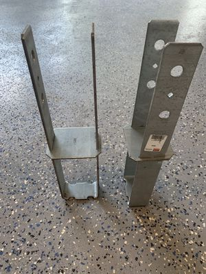 Simpson CB44 post anchors for 4x4 post for deck, stair post or maybe fence pos for Sale in Celebration, FL