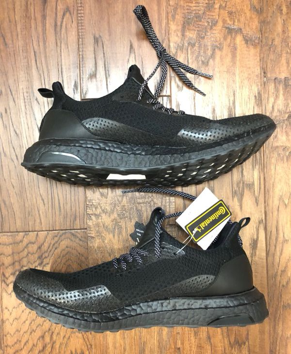 67d114ae77e13 Adidas Haven x Ultra Boost Uncaged Triple Black BY2683 Size 11 BNIB ...