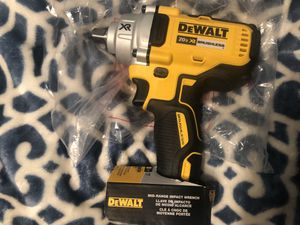 Brand new 1/2 inc dewalt impact wrench 20 volt(tool only) for Sale in Germantown, MD