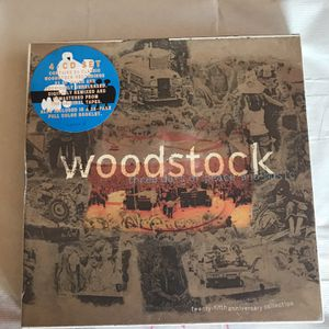 Woodstock 4 CD Box Set (Unopened - New) for Sale in Vista, CA