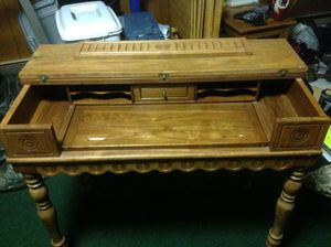 Antique desk and chair mostly handmade it would make a nice decorative piece for Sale in Forestville, MD