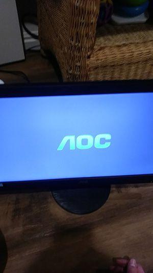 "18"" AOC HD LED Computer Monitor for Sale in Salt Lake City, UT"