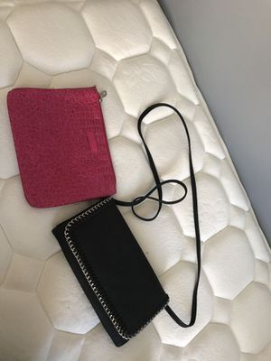 Pink Wallet & Black Purse for Sale in Fort Meade, MD