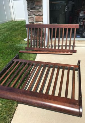 Free: full size bed frame (rails included) for Sale in Woodbridge, VA