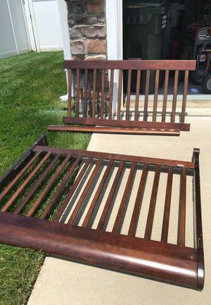 Free: full size bed frame (rails included) for Sale in Woodbridge, VA