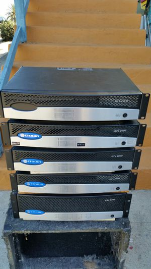 Crown amplifiers / amplificadores for Sale in San Diego, CA