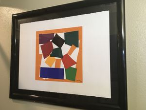Framed and matted Abstract Art for Sale in Dallas, TX