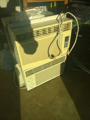2 window AC with remote for Sale in San Bernardino, CA