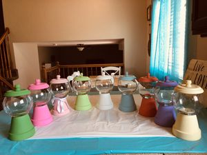 Nostalgic Gumball Candy Machine Jars for Sale in Bluffdale, UT