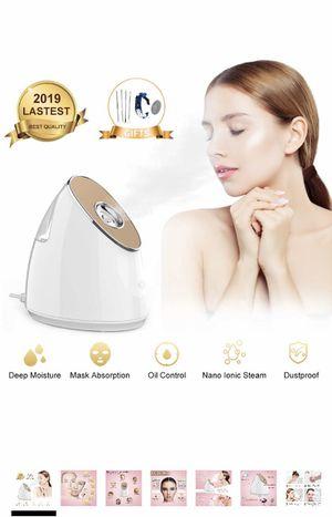 Brand new Facial Steamer, Ionic Nano Steamer, Face Pore Unclogging Hot Spa Mini Facial Steamer Sprayer Humidifier for Moisturizing Face Clean Pores & for Sale in Walnut, CA