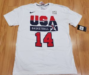 Vintage VTG Nike USA Olympics Dream Team Charles Barkley Tee Shirt size Medium M supreme jordan kobe for Sale in Rosemead, CA