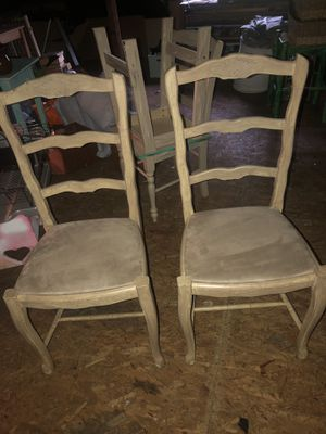 Microsuede Beige Chairs: Two for Sale in Nashville, TN