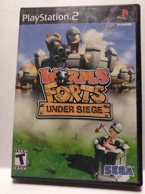 PS2 Worms Forts Under Siege game for Sale in Brainerd, MN