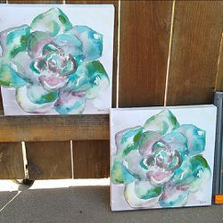 Set of succulent paintings for Sale in Rockville,  MD
