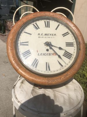 Antique Oak English Clock R E Meyer Leicester England for Sale in Whittier, CA