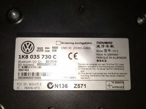10-11 VW Bluetooth Modulator for Sale in Denver, CO